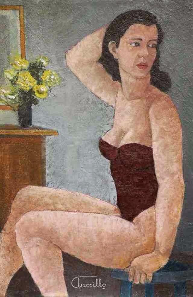 Итальянский художник. Claudio Tuccillo