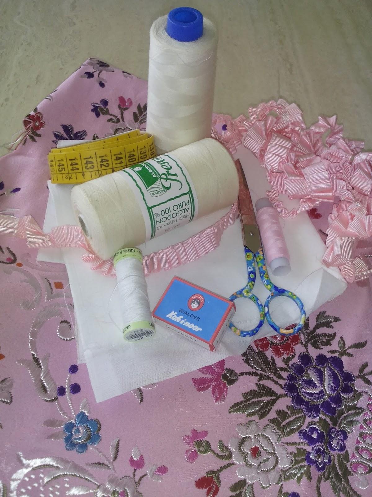 4 X Cinta de fuerte dobladillado Vestido//Falda subir 4m Hierro en Telas no necesita coser