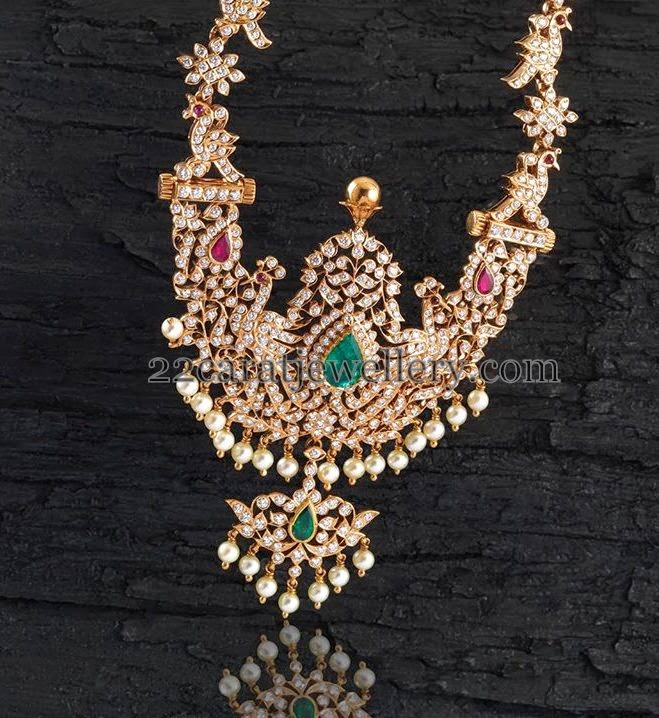 Gold And Diamond Necklace Designs