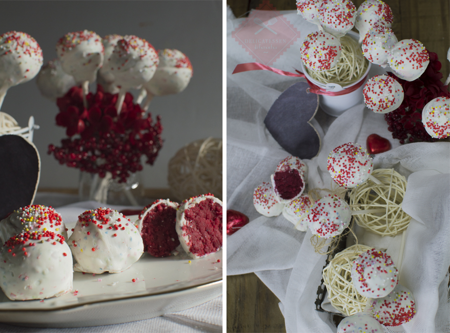 cake pops o trufas red velvet