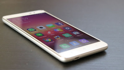 Thiết kế điện thoại Xiaomi redmi note 3