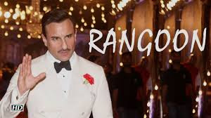 Saif Ali Khan in Rangon