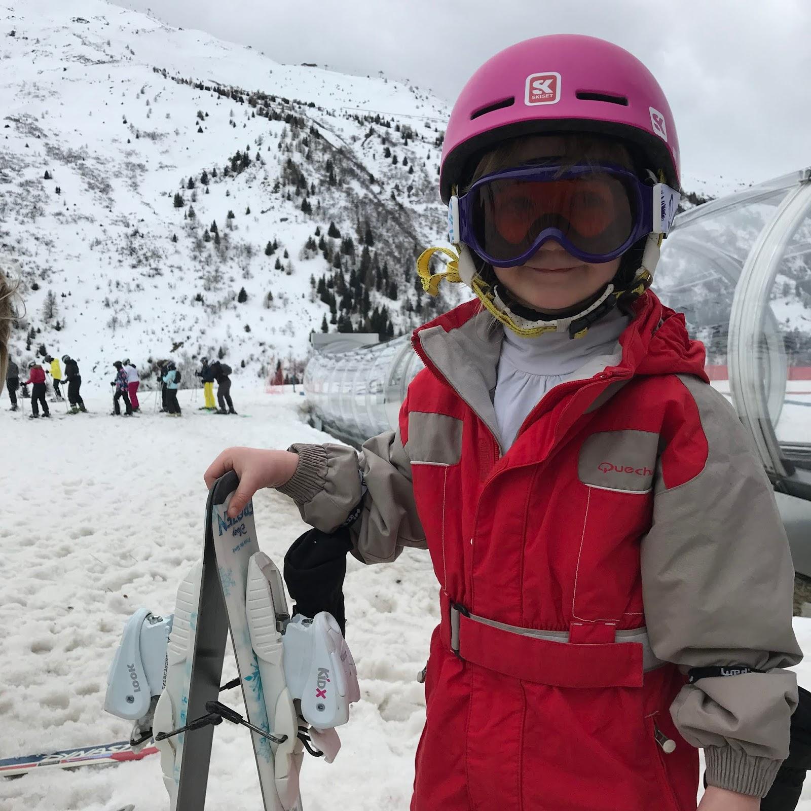 ski à valmeinier 1800