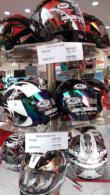 helm murah jakarta fair
