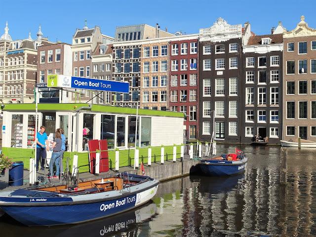 Amsterdam med båt- City Lover Reser