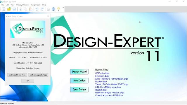 Design Expert 11 Crack Version Free Download