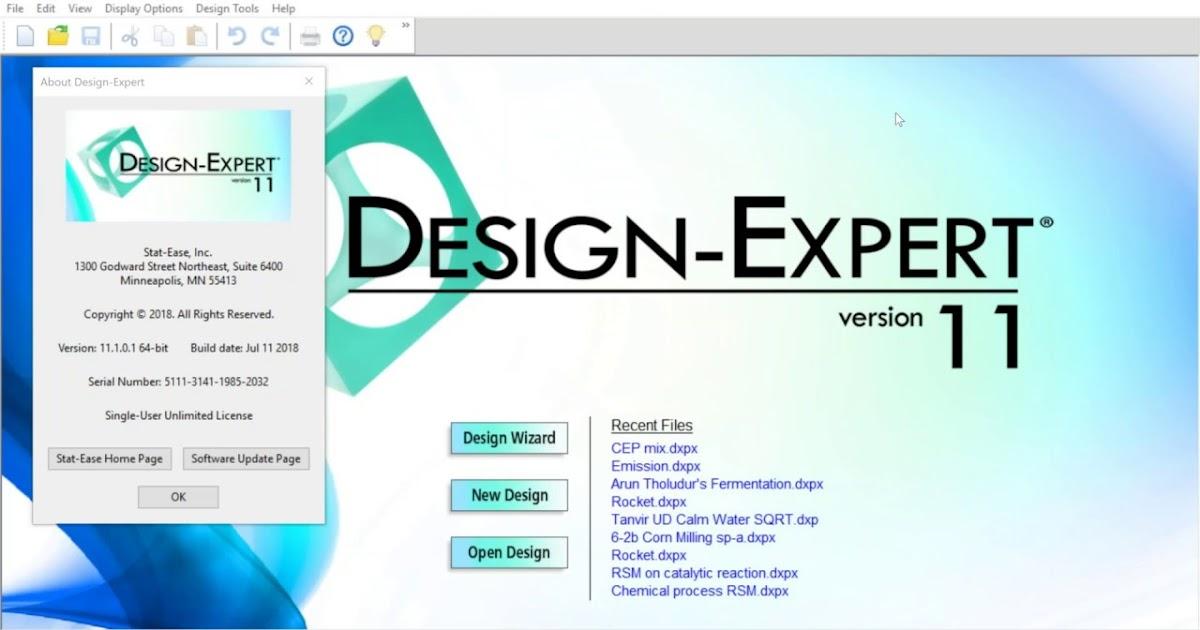 Stat Ease Design Expert 11 Free Download - PC Wonderland