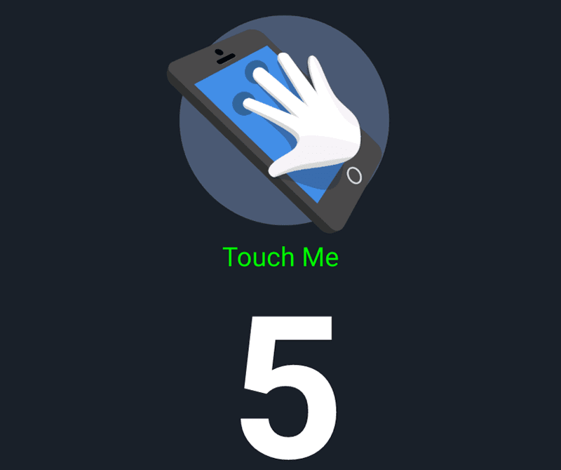 The standard 5 points of touch