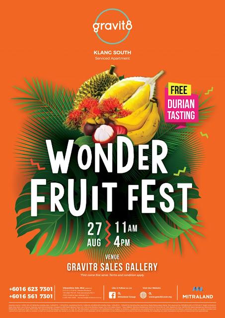 Mitraland Group Wonderfruit Fiesta Free Durian Tasting Gravit8 Sales Gallery