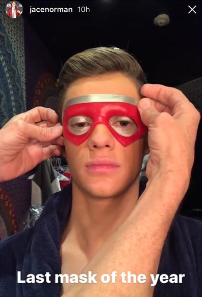 NickALive!: Jace Norman Puts On One Last 'Henry Danger' Mask