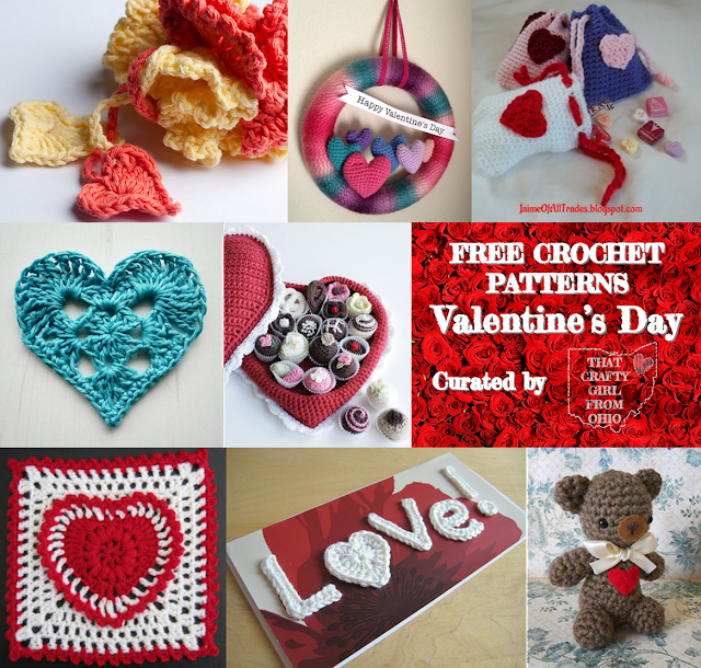 Free Crochet Pattern Roundup From That Crafty Girl From Ohio