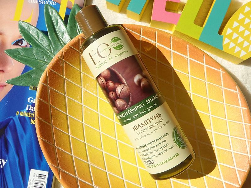 Eco lab szampon wzmacniający, Eco lab objętość i wzrost