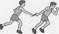 Latihan Lari Estafet