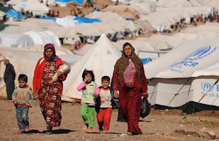 Over 8,000 Syrian refugees return home from Jordan in 2017