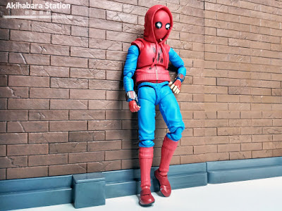 S.H.Figuarts Spider-man Homecoming Homemade Suit ver. + Wall - Tamashii Nations