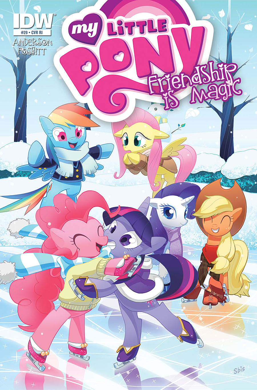 Friendship is Magic #29 RI Cover Found  MLP Merch