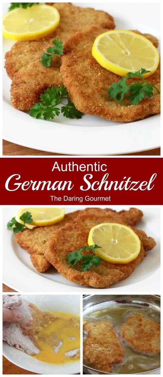 Authentic German Schnitzel