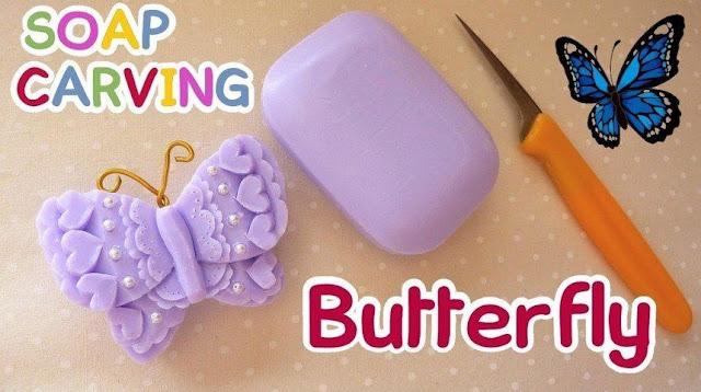 Membuat Kerajinan dari Sabun [Gambar Step by Step +Video]