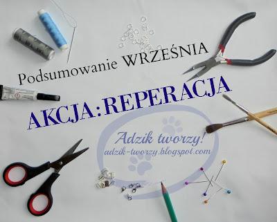 Akcja:Reperacja - Podsumowanie WRZEŚNIA