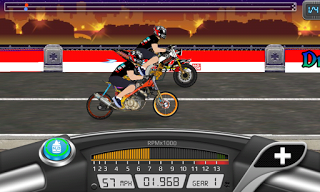 Drag Bike Indonesia Apk Mod Terbaru 2016-3
