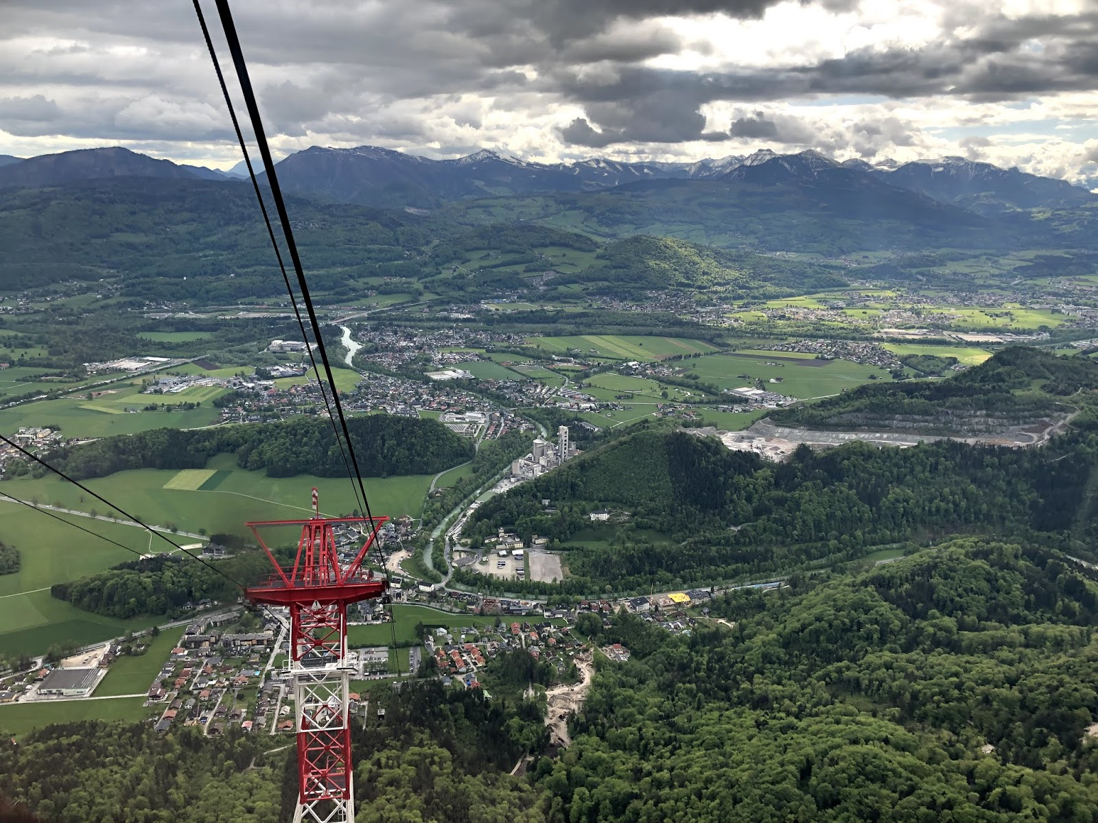 Salzburg Itinerary Untersbergbahn Moutain Cable Car