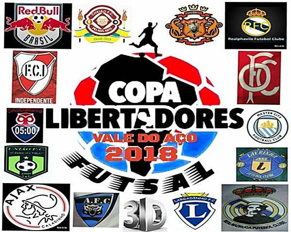 Começou a Libertadores Vale do Aço de Futsal
