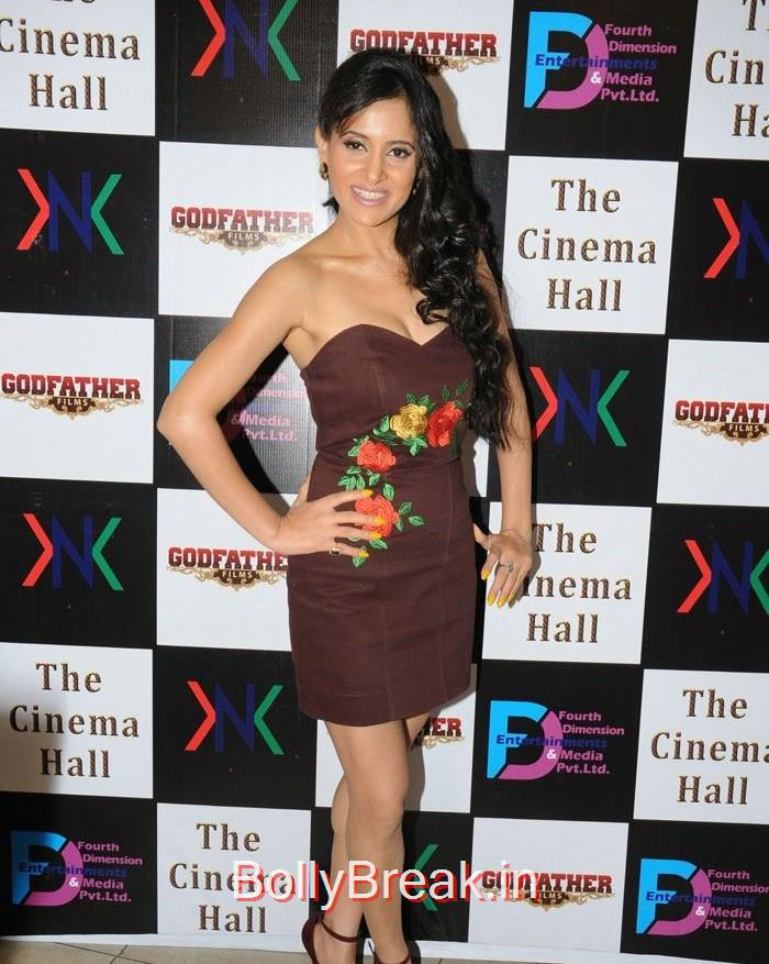 Shweta Khanduri, Hot Pics of Sara Khan, Jesse Kaur At 'The Cinema Hall' Movie Launch