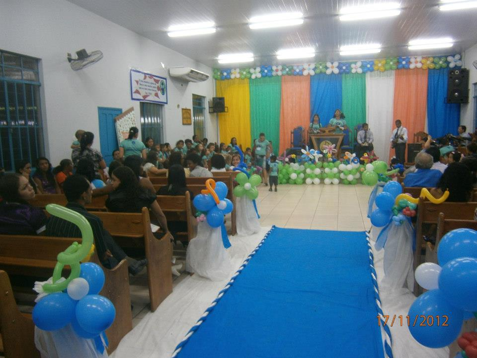 Crianças Crescendo com Jesus CULTO INFANTIL E LEMBRAN u00c7AS -> Como Decorar Igreja Evangelica Para Festividade