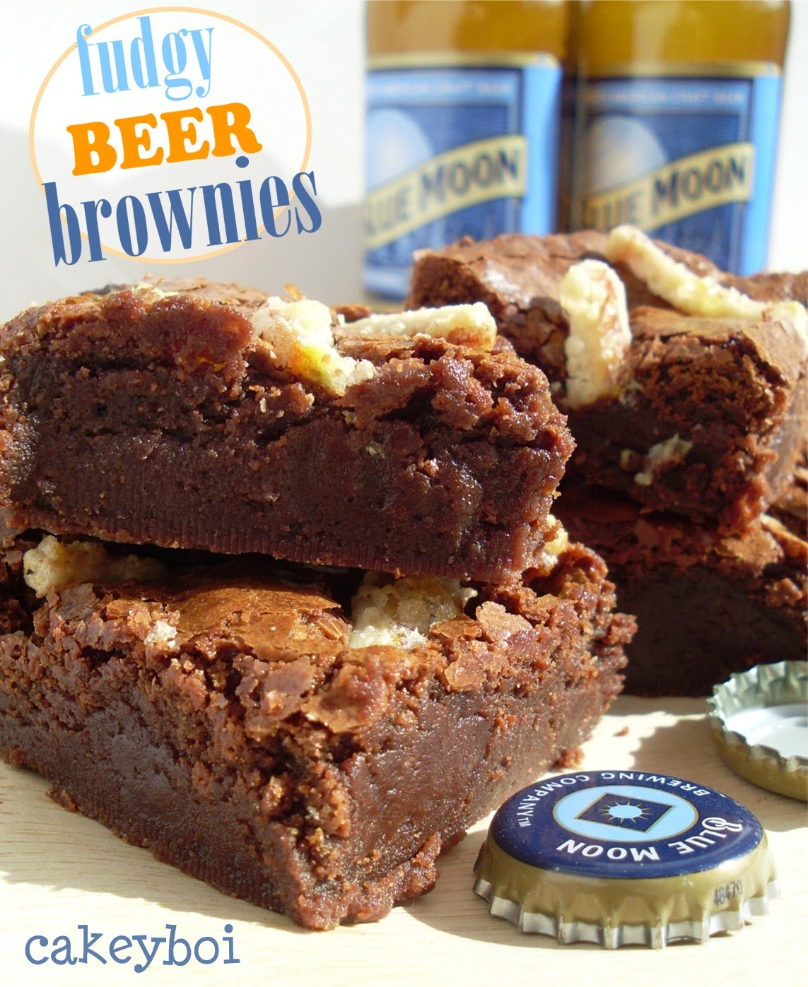 fudgiest brownies ever made with beer