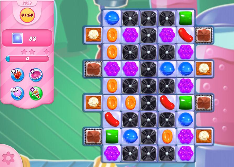 Candy Crush Saga level 2999