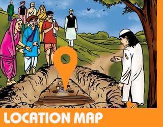 Location Map Sai Mandir Jhabua