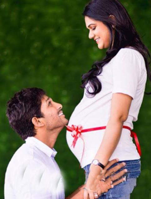 Allu Arjun Announcing Second Baby