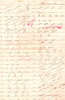 handwritten shorthand test illustration paper image
