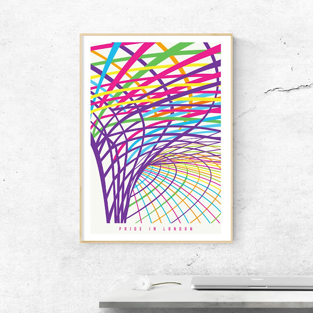 London King's Cross Pride Art Print