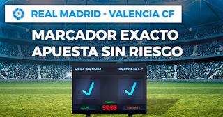 Paston promocion Real Madrid vs Valencia 1 diciembre