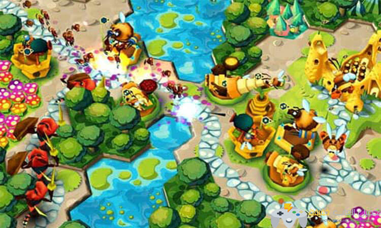 تحميل لعبة سياج النحل BeeFense