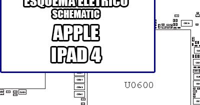 Esquema Elétrico Smartphone Apple iPad 4 Manual de Serviço