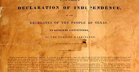 Texas Declaration of Independence Public Domain Clip Art ...