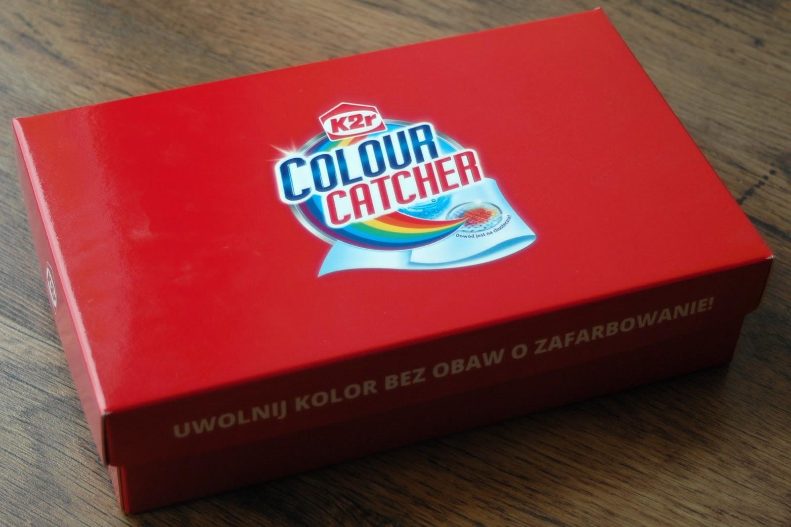 COLOUR CATCHER K2r - chusteczki, które mają moc łapać kolor w dzień i noc.