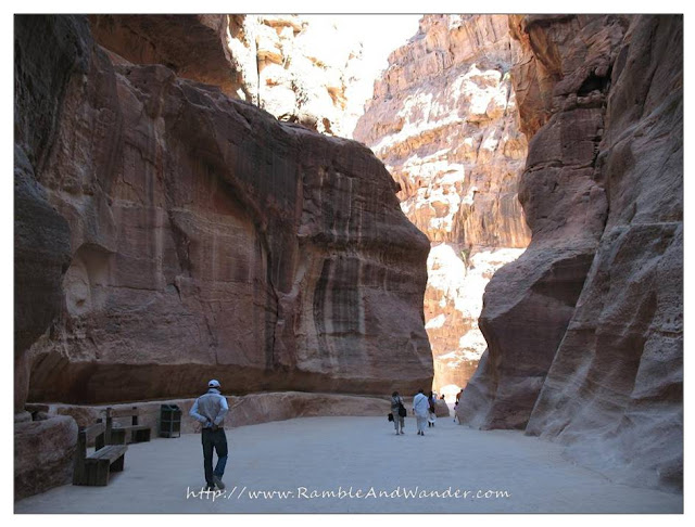 Al Siq, the Gate of Shaft, Petra, Jordan