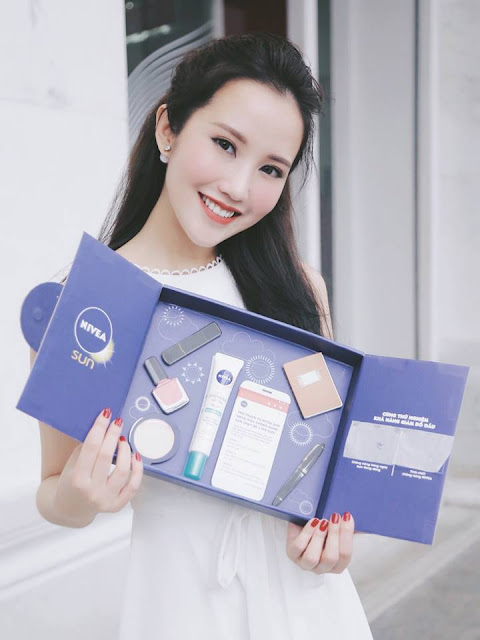 Review Tinh Chất Chồng Nắng Nivea Cho Da Dầu, NIVEA Sun Protect & White Oil-Control Sun Protection Serum, Tinh Chất Chống Nắng Giúp Giảm Đổ Dầu NIVEA, nivea, kem chống nắng nivea
