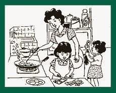 Cerita Lucu Anak Dan Ibu Belajar Memasak