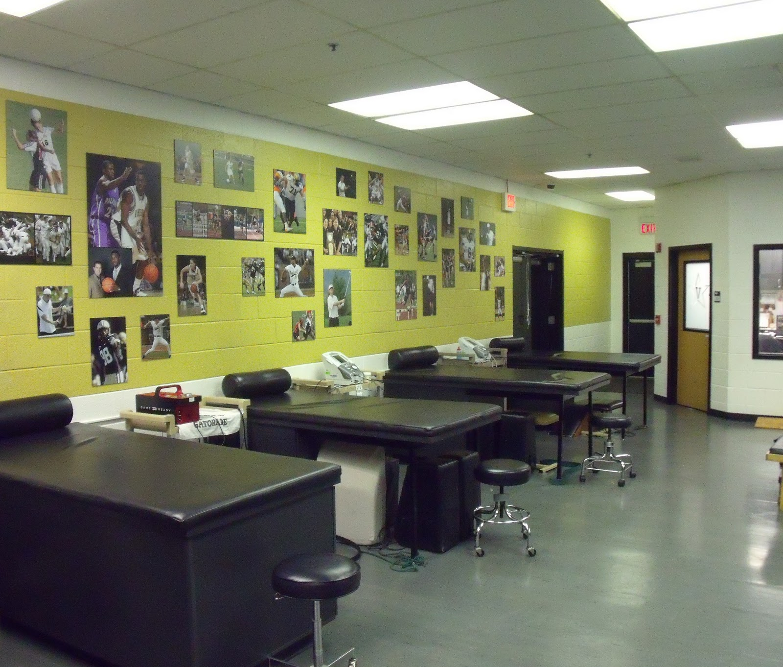 Brant Pinky Lipscomb Athletic Training Room Athletic