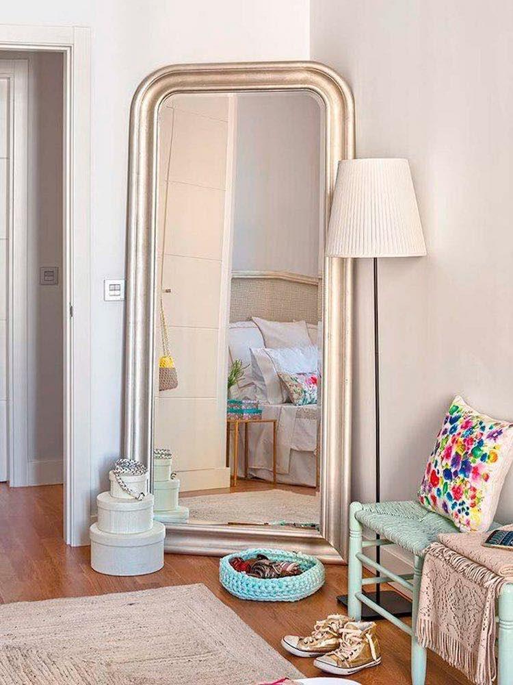 Una pizca de hogar 10 imprescindibles en un dormitorio for Espejo grande dormitorio