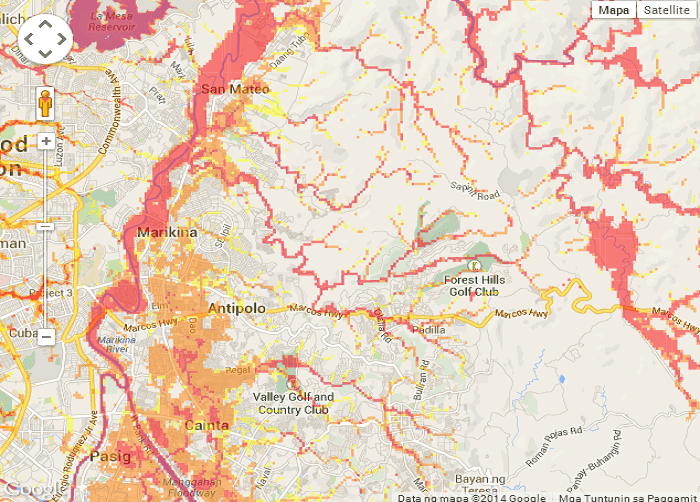 Flooded Areas in Metro Manila 3