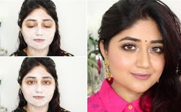 Festive Glow using Affordable Facial Kit