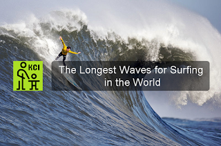 The Longest Waves for Surfing in the World