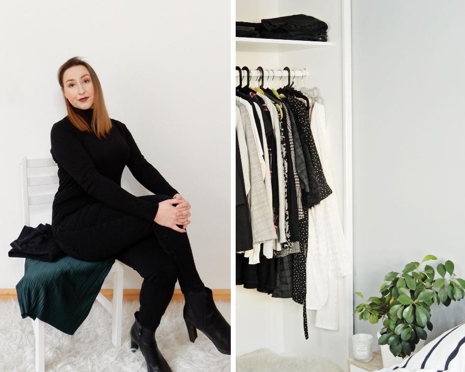 Capsule wardrobe | Pokochaj swoje ubrania | Moja droga od szafiarki do minimalistki