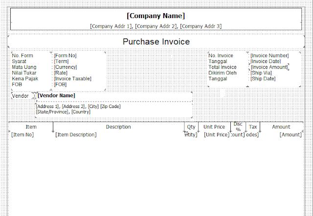 contoh faktur pembelian