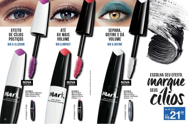 Mark- nova linha de maquiagens Avon